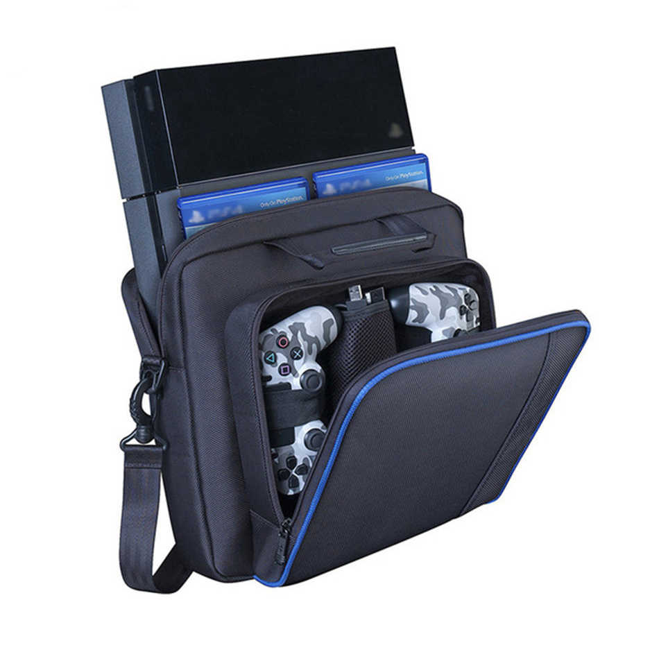 ل PS4 / PS4 سليم برو وحدة التحكم حقيبة حقيبة للتخزين واقية الكتف تحكم حقائب لسوني بلاي ستيشن 4 غمبد حقيبة يد