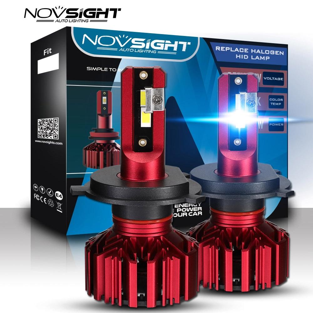 2 шт., 12 В, 24 В, автомобильный головной светильник H4, H7, H3, H11, HB3, HB4, 9005, 9006, H1, светодиодный, 60 Вт, 10000LM, фара 6000K, противотуманный светильник