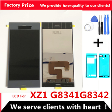 """5.2"""" Original LCD for SONY Xperia XZ1 LCD Display Touch Screen XZ1 dual G8341 G8342 Replacement parts LCD screen(China)"""