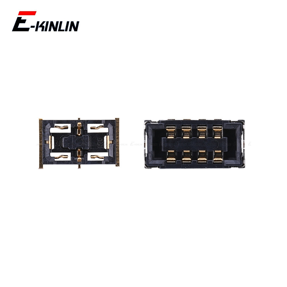 2pcs Battery FPC Connector Contact Holder For XiaoMi Mi 4C 4i Mix 2S Max Note 2 Redmi 3 Pro 3S 3X 4A Note 3 On Motherboard