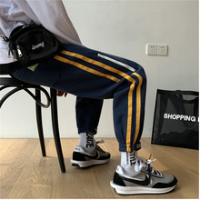 Men's casual pants 2019 autumn and winter new casual wild sports pants beam pant