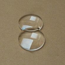 Выпуклая линза VR очки диаметр 42 мм покрытием Антибликовая синяя пленка оптическая K9 материал пара