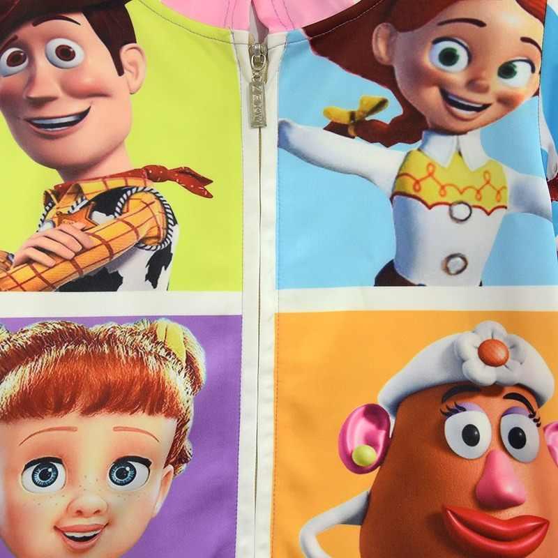 2020 Nieuwe Kinderen Toy Story 4 Hooded Outdoor Jassen Kids Rits Gaby pop Casual Jassen Jessie Meisjes Polar Fleece Mode jas