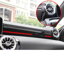 Lsrtw2017 для Mercedes Benz класс W177 A180 A200 приборной панели автомобиля отделка интерьера молдинги аксессуары