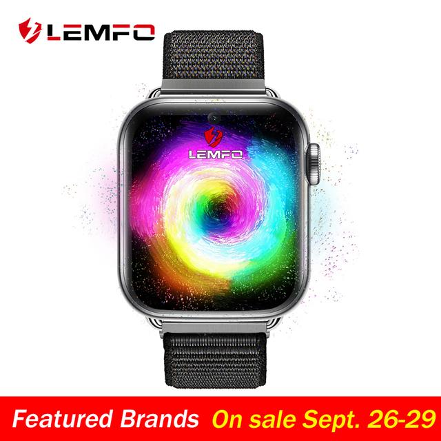 LEMFO LEM10 4G Smart Watch Android 7.1 1.88 Inch 360*320 Screen 3GB + 32GB GPS WIFI 780mah Big Battery Smartwatch Phone Pre-sale