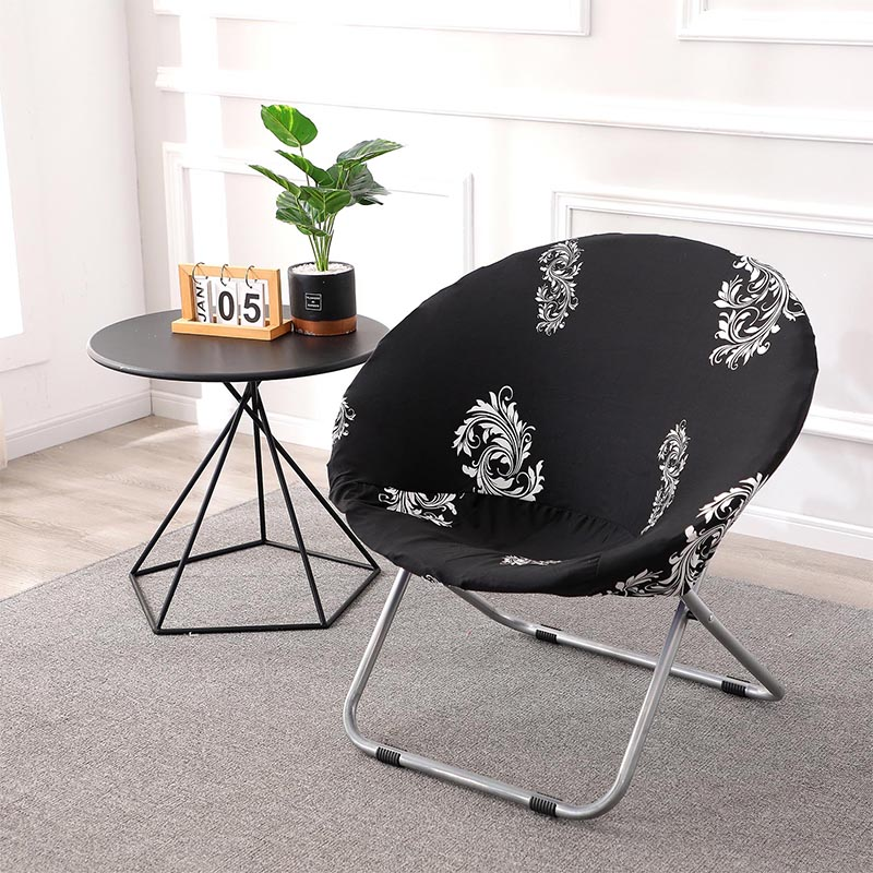 Get Spandex Moon Sauce Unique Chair Cover 6 Chair And Sofa Covers