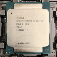 Intel Xeon E5 2673 V3 2.4Ghz 12-Cores 30M LGA2011-3 Processor E5 2673V3 Cpu
