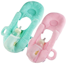 Baby Pillow Newborn Breast Feeding Pillow Anti-spit Milk Flat Head Head Shaping Infant Cushion Multifunction Cotton YAP004 sale baby cushion nurse shaping pillow pure cotton help sleeping protect head development evidence adjustable ages of 1 and 3