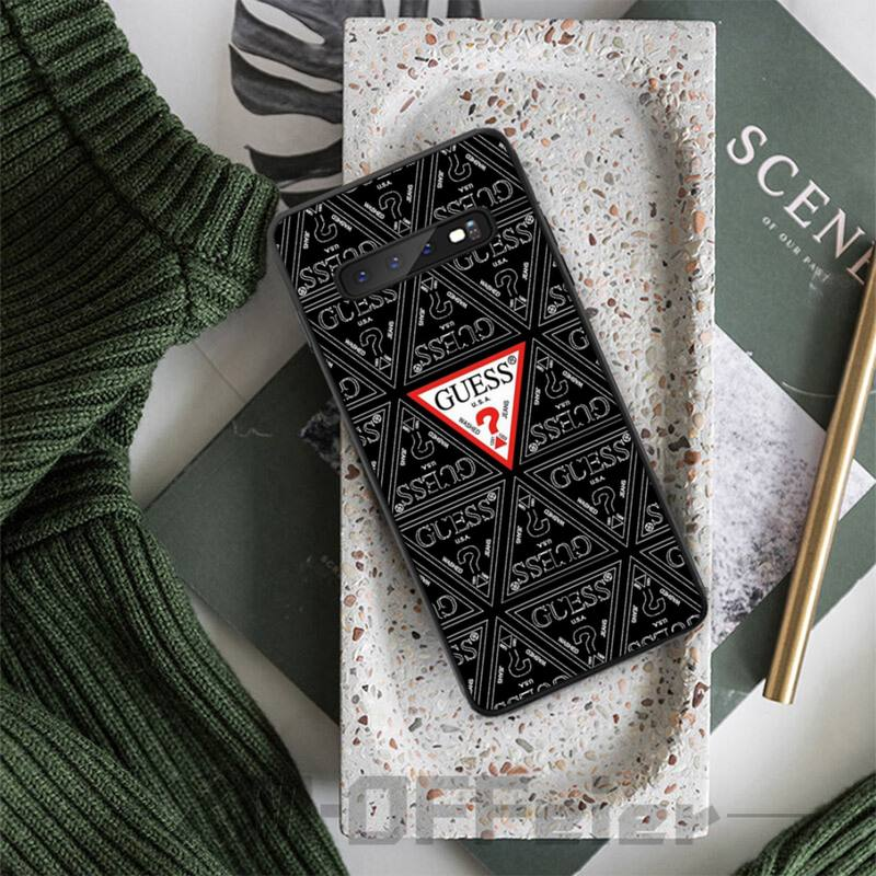 Love GUESS Riddle Luxury Brand Case Coque Fundas For Samsung Galaxy S8 S9 S10e S20 PLUS J6 J600 Cases Cover