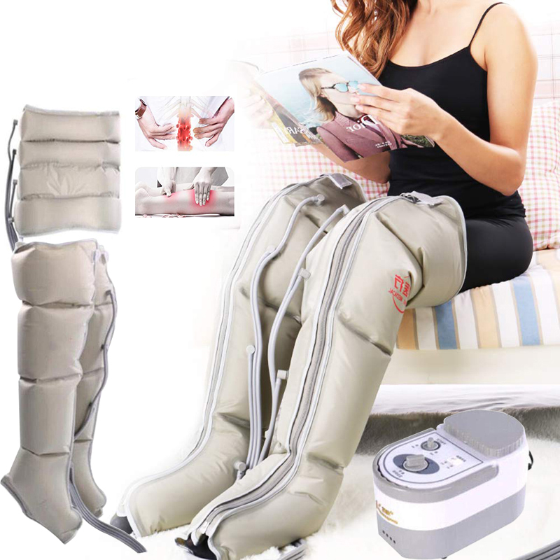 Air Compression With 8 Chambers Leg Arm Waist Vibration Massager Pump Wrap For Masaage Relax And Promote Blood Circulation
