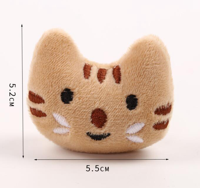 [MPK Catnip Toy] Buy any 3 items get 30% off! New 2019 Cat Face Design Cat Toy, Catnip Cookie Cat pillow 12