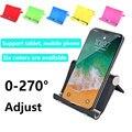 Универсальный складной настольный держатель для смартфона подставка для Xiaomi IPhone Samsung Настольный держатель телефонные аксессуары