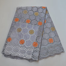 Bazin brode африканская кружевная ткань Свадебная Женская Ткань