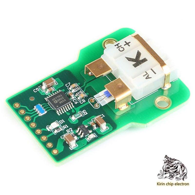 1pcs / Lot Ad7793 High Precision K Thermocouple Temperature Measurement Acquisition Module PT100 Cold Junction Compensation