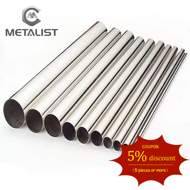 METALIST SS316/304 12-89mm Customized Length Polished Sanitary Spool Tube Without Flange