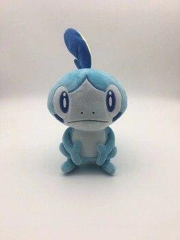 Figuras de acción de TAKARA TOMY PKM, muñecos de peluche, Escudo de la espada de Pokémon, juguetes Grookey, conejo de peluche, figura rellena de regalos para niños