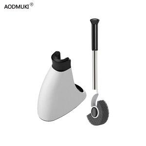 Image 1 - Strona główna szczotka do WC czyszczenie akcesoria łazienkowe uchwyt ze stali nierdzewnej uchwyt podłogowy z podstawą WC zestaw dekoracji narzędzia