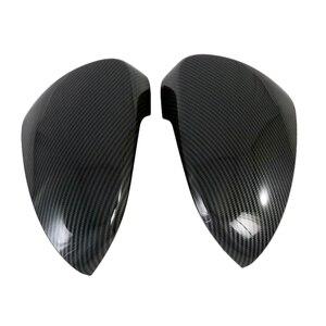 Image 5 - עבור יונדאי טוסון 2019 2020 ABS Chrome צד מבריק דלת אחורית מראה אגף כיסוי לקצץ אביזרי רכב 2pcs