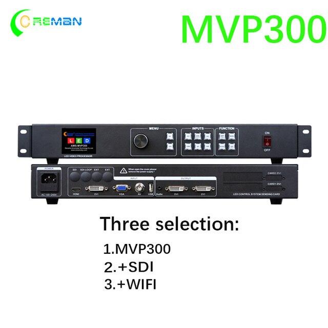 Best price aliexpress rental video wall LED video processor MVP300 scaler HD TV SDI HDMI VGA DVI USB WIFI controller parts