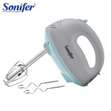 цена на 5 Speeds Multifunction Electric Hand Food Mixers High Quality Dough Blender Egg Beater Hand Mixer For Kitchen 220V Sonifer