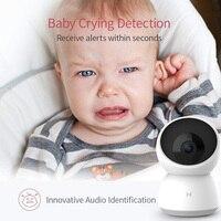 Xiaomi 2020 Новая 2K 1296P HD умная камера A1 веб-камера WiFi ночное видение 360 Угол видео камера детский монитор безопасности приложение mi home 3