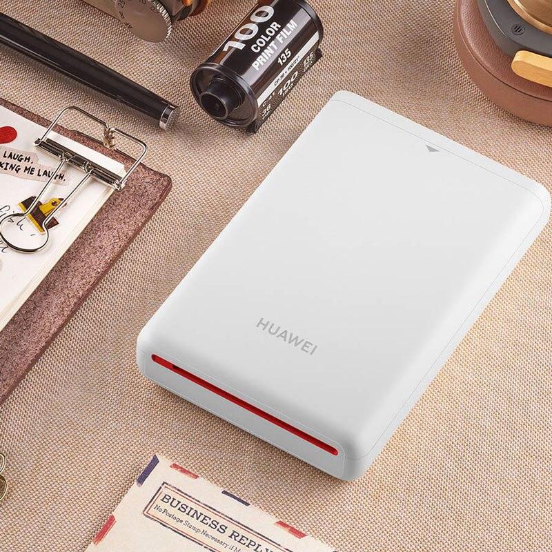 Huawei оригинальный AR портативный принтер фото карманный мини принтер DIY фотопринтеры для смартфонов Bluetooth 4,1 300 точек/дюйм принтер - 6