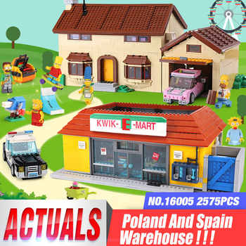 DHL 16005 the Carton House 16004 the Kwik-E-Mart Building Blocks Bricks Compatible with 71016 71006 Assembly House Model Kid Toy - DISCOUNT ITEM  20% OFF All Category