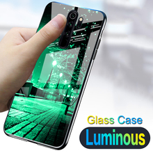 Luminous Tempered Glass Case For Xiaomi