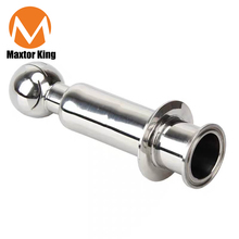 MK Sanitary Rotating Cip Spray Ball Tri Clamp Tank Cleaning Ball Quick Connection Double Clamp