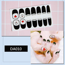 Korea Multicolor Nail Sticker Full Cover Wraps Decorations DIY Manicure Slider Vinyls s Decals Art(China)