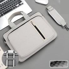 Laptop Bag Case 13.3 14 15.6 17.3 Inch For HP Macbook Air Pro 13 15 17 Computer Shoulder Laptop Handbag Waterproof Briefcase Bag
