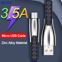 Grma Alloy Fast Charging Micro USB Cable 2.0 for Xiaomi mi 3