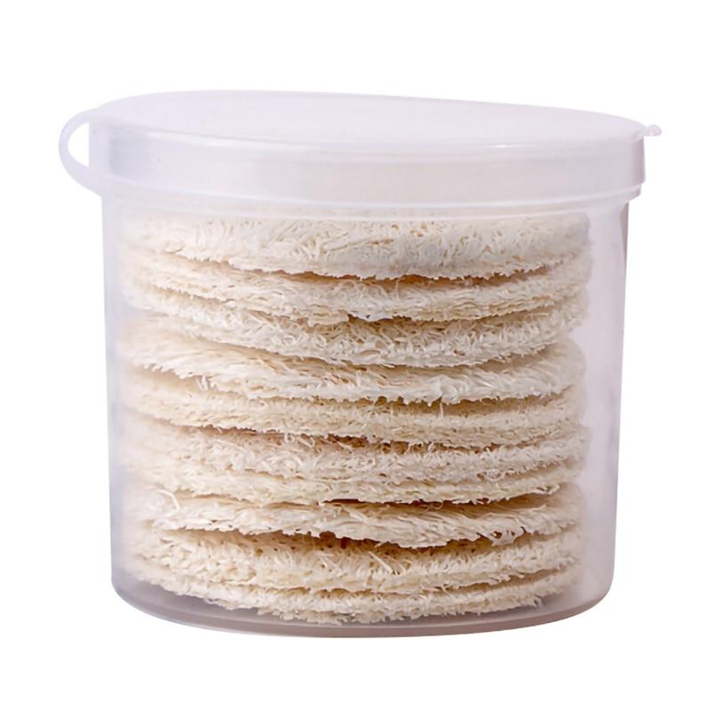 Natural Loofah Sponge Bath Rub Exfoliate Bath Glove Bath Towel Natural Loofah Bath Body Shower Sponge Scrubber Pad