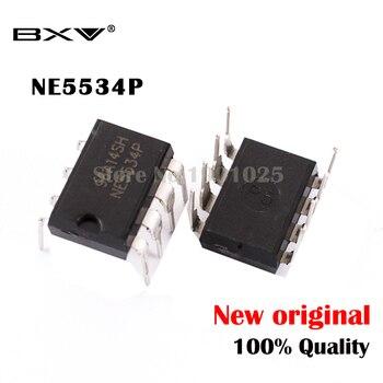 10 шт./лот NE5534P DIP8 NE5534 DIP NE5534N IC Новинка и оригинал Бесплатная доставка в наличии