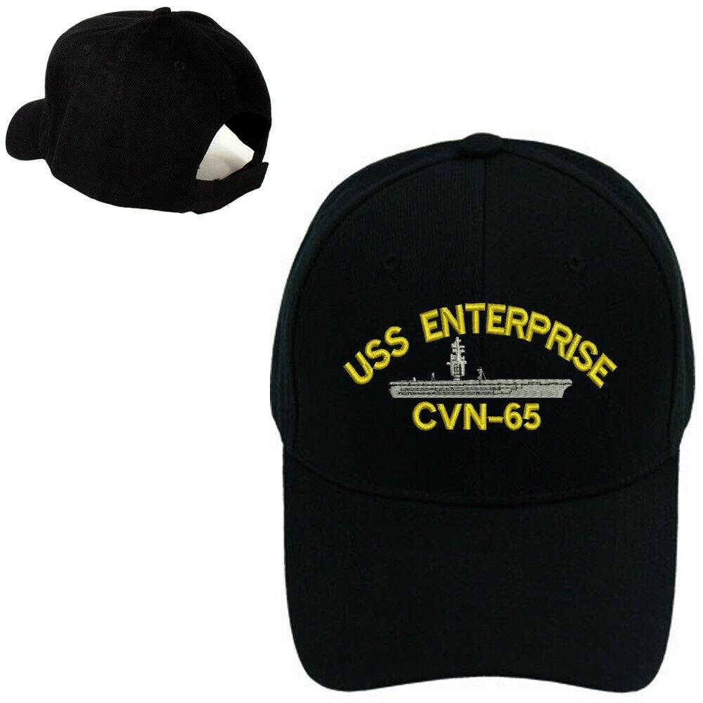 BATTLESHIP BASEBALL CAP HAT USS ENTERPRISE CVN-65