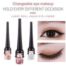 Novel Design Makeup Eyeliner Waterproof Liquid Non Dizzy Dyeing Quick Drying Liner