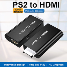 Adaptador convertidor de PS2 a HDMI, captura de Audio y Video 1080P HD, Cable AV HDMI para SONY PlayStation 2
