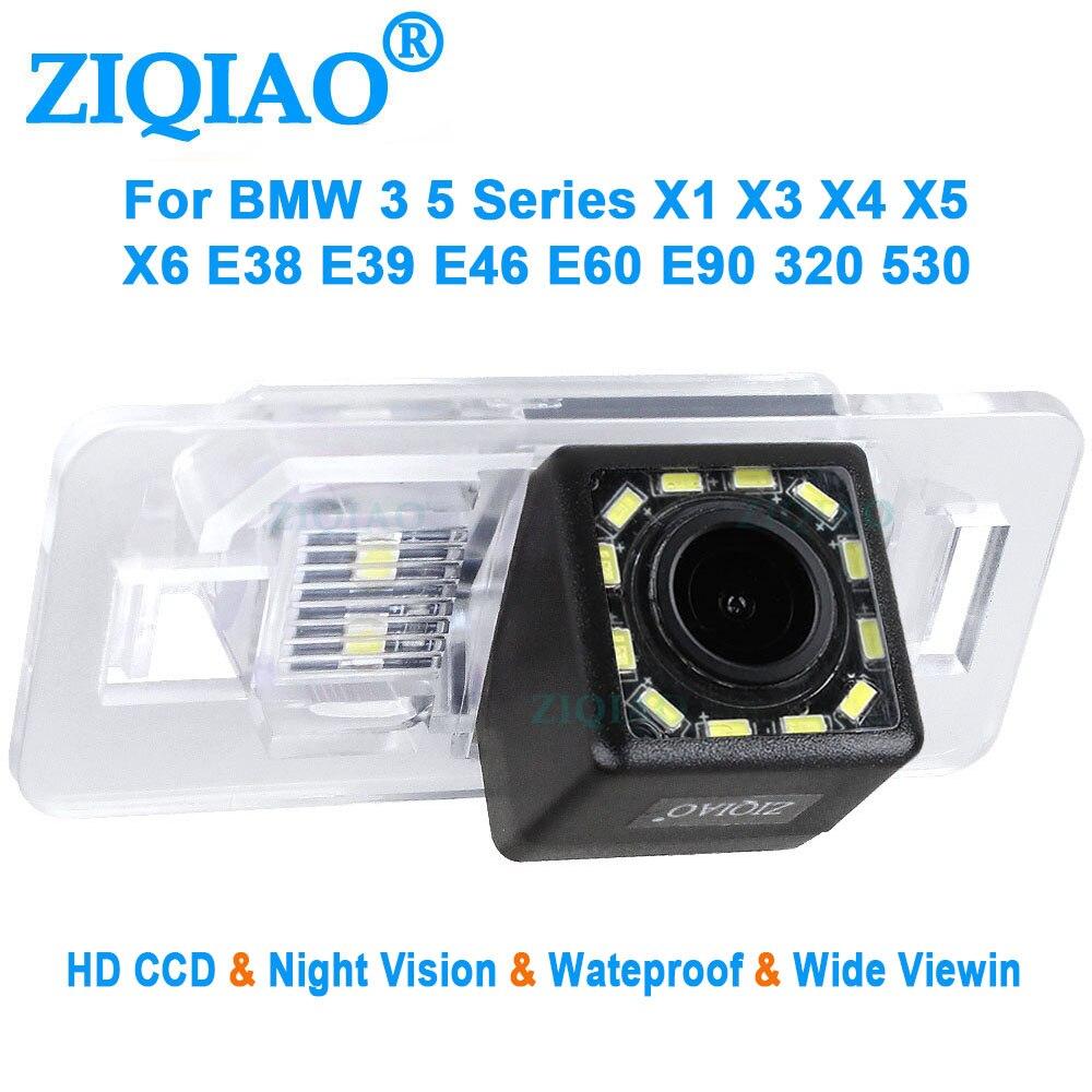 ZIQIAO für BMW 3 5 Serie X1 X2 X3 X4 X5 X6 E39 E46 E60 E90 315 318 320 323 325 Nachtsicht Rückansicht Kamera HS023