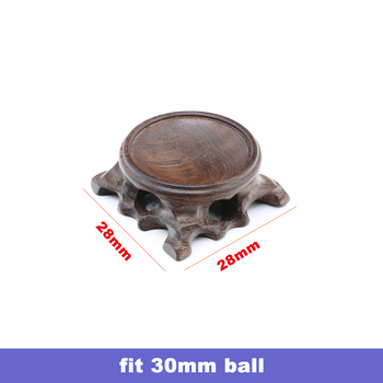 Wood Display Stand for Crystal Glass Lens Ball Large Divination Photography Lensball Base 40 60 80 100mm Big Magic Sphere Holder 7