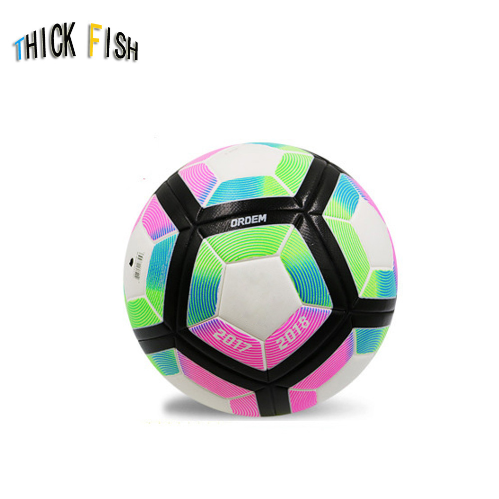 2019 Soccer Premium Upholstery Football Indoor/Outdoor Games Football PU Soccer Ball Official Size 4 Or 5