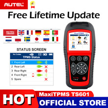 AUTEL MaxiTPMS TS601 TPMS Car Diagnostic tool OBD2 Scanner Automotive Activator Tire repair tools Sensor programming Code Reader(China)