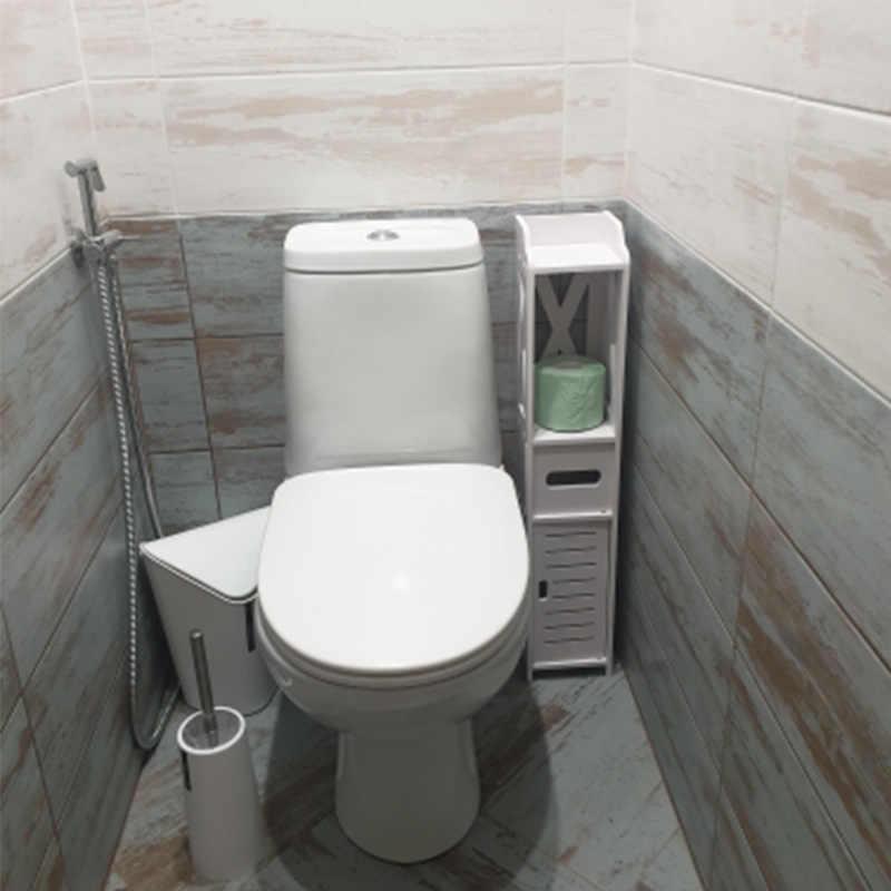 작은 욕실 허영 바닥 서 욕실 스토리지 캐비닛 세면대 샤워 코너 선반 식물 Sundries 스토리지 랙