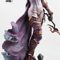 World Of Warcraft Sylvanas Ghost Queen Sylvanas windrunner Standbeeld Garage Kit