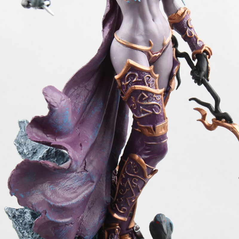 World Of Warcraft Sylvanas Ghost Queen Sylvanas Windrunner Statue Garage Kit