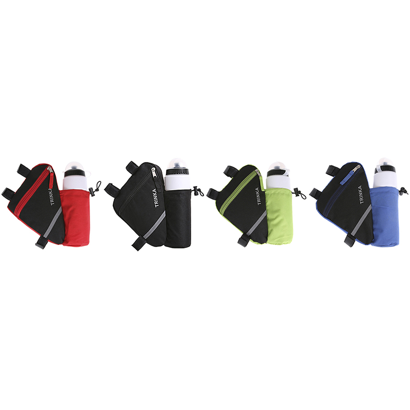 Water Bottle Pocket Bicycle Accessories Waterproof Bike Triangle Bag For Bicycle Front Frame Bag Cycling Top Tube Bag
