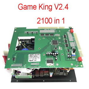 Image 1 - Gmae King V2.4 Multi classic jamma game board Arcade Multigame PCB 2100 in 1 with ATX POWER SUPPLY