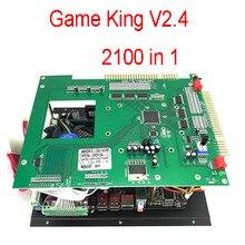 Gmae King tablero jamma multijuego para Arcade, PCB 2100 en 1, multijuego, con fuente de alimentación ATX, V2.4