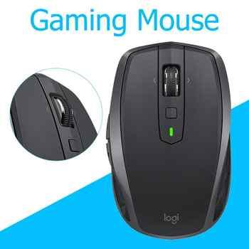 ロジクール Mx どこでも 2S 2.4GHz ワイヤレスマウス 4000DPI 充電式 Bluetooth ゲーミングマウスための受信機とコンピュータラップトップ PC