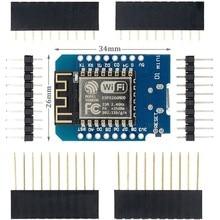 10 adet D1 Mini Mini NodeMcu 4M bayt Lua WIFI şeylerin Internet kalkınma kurulu tabanlı ESP8266