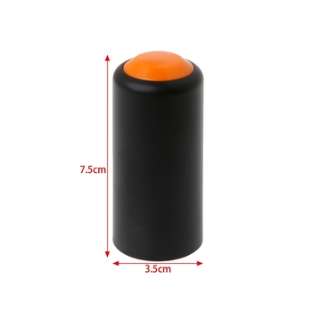 1 PC Battery Screw On Cap Cup Cover For Shure PGX Wireless Handheld Microphone New image